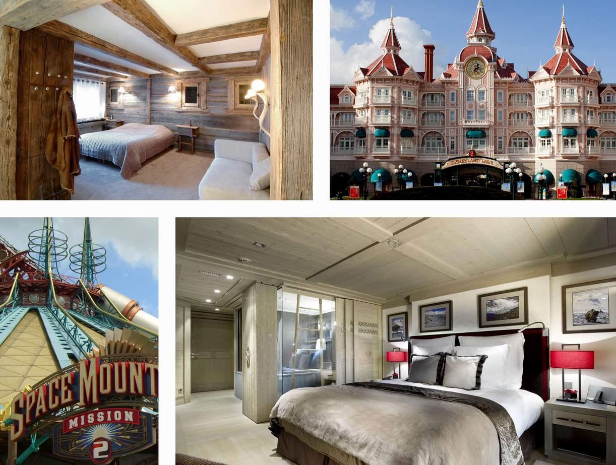 Chambre classique disneyland hotel design d 39 int rieur et for Interieur hotel disney